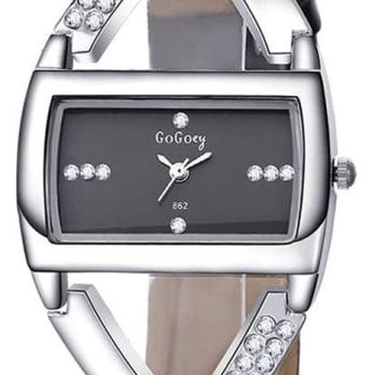 Dámské hodinky - zatočený náramek