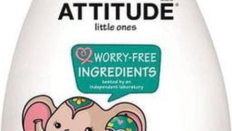 ATTITUDE Dětské tělové mléko s vůní hruškové šťávy s pumpičkou, 300 ml
