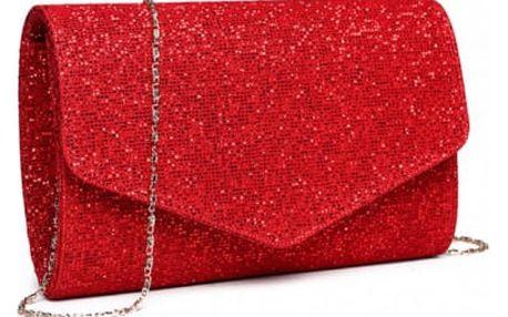 Dámské červené psaníčko Sallina 1801