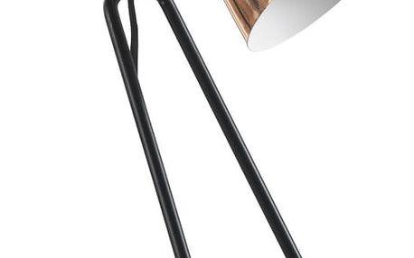 Stolní lampa v měděné barvě Geese Line