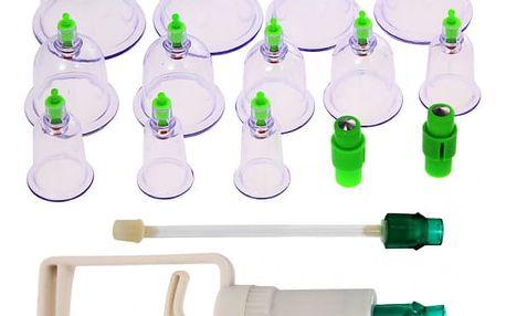 Baňky pro uvolňující masáž - 12 ks