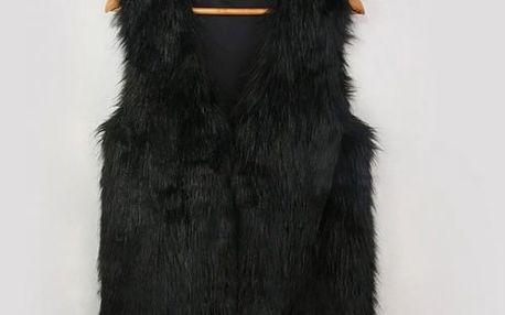 Podzimní designová vesta - 3 barvy