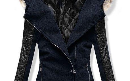 Dámský kabát Alska modrý