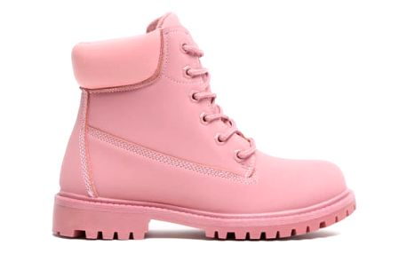 Dámské růžové kotníkové boty Maya 8148