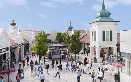 Nákupy v Rakousku: 1denní výlet pro 1 osobu autobusem