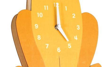 Dřevěné hodiny Rex London Charlie The Lion