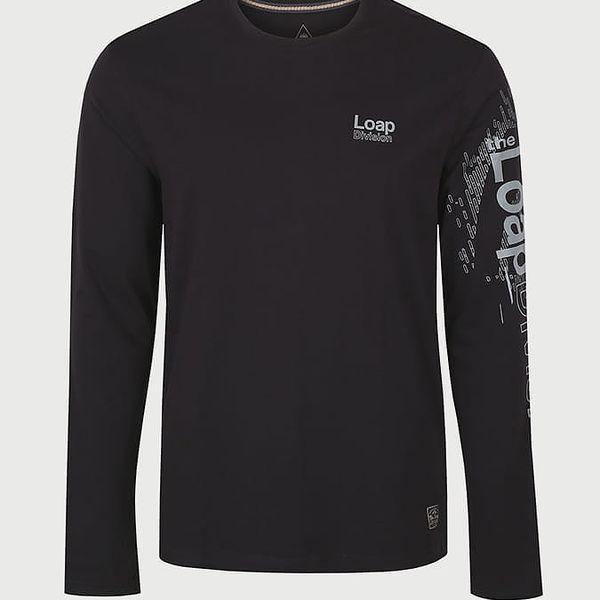 Tričko Loap BAHU Černá