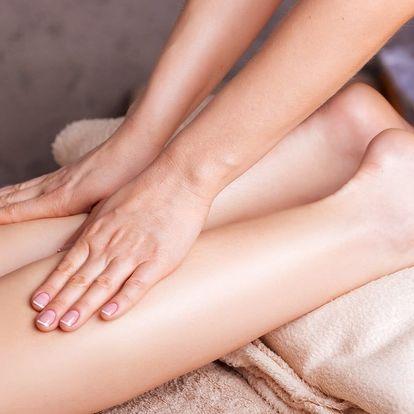 Cypřišová masáž nohou s vonnou koupelí