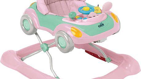 CAM Chodítko Minando - růžové autíčko, col. C