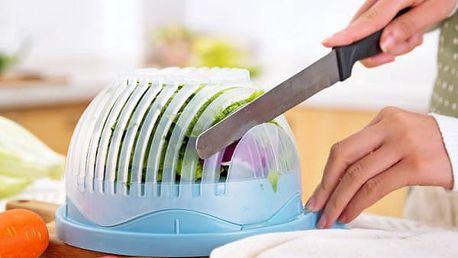Miska pro nakrájení zeleniny do salátu během 60 vteřin