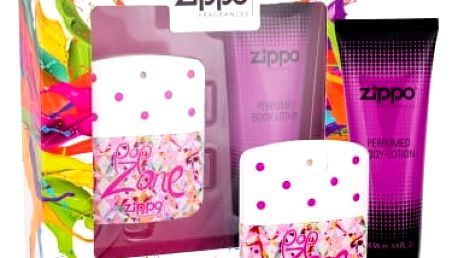 Zippo Fragrances Popzone 40 ml dárková kazeta dárková sada pro ženy toaletní voda 40 ml + tělové mléko 100 ml