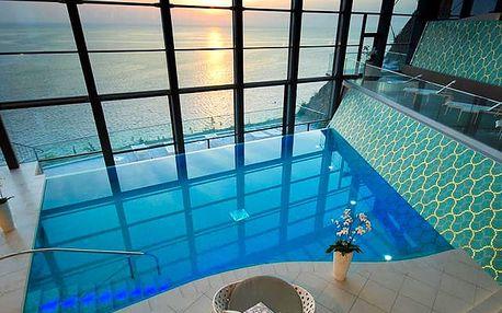 Grand Hotel Bernardin*****, 5* hotel se soukromou pláží, polopenzí a SPA v Portoroži