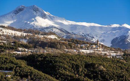 10denní lyžování ve francouzském Les Orres s dopravou a 6denním skipas
