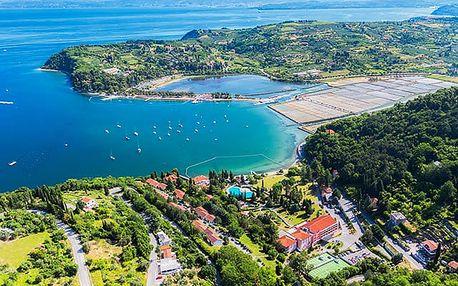 Salinera Resort, 4* hotel s polopenzí přímo u pláže na břehu Jadranu