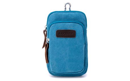 Pánská mini taška na krk se dvěma kapsami