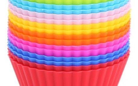 Silikonové košíčky na muffiny - 16 kusů