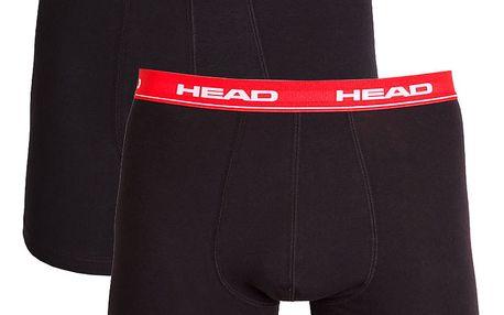 Pánské boxerky HEAD red blue L