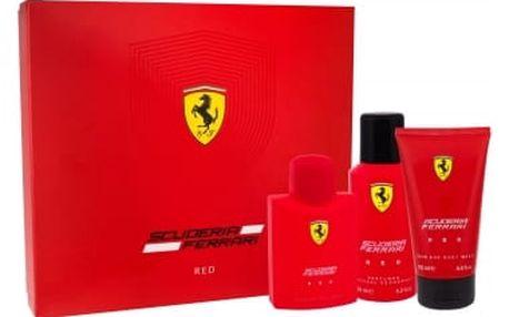 Ferrari Scuderia Ferrari Red EDT dárková sada M - EDT 125 ml + sprchový gel 150 ml + deodorant 150 ml