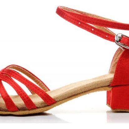 Taneční boty s podpatkem - 8 variant