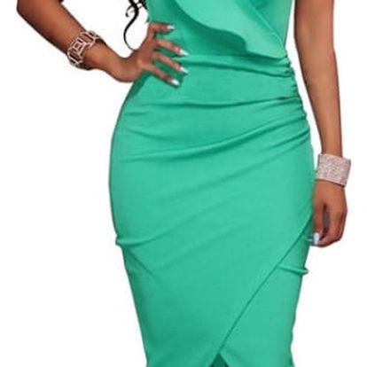Šaty s volány - 6 barev