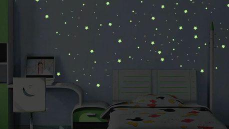 Samolepka svítící ve tmě Ambiance Milky Way, 240 ks