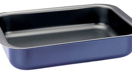 Modrá obdélníková pečicí forma Pensofal Inoxal, 30 x 21,5 cm