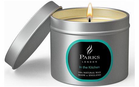Svíčka s vůní citronové trávy, citrusů a máty Parks Candles London Kitchen, 25 hodin hoření