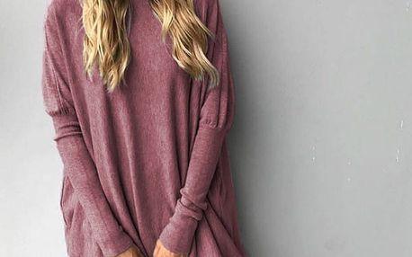 Dámský volný svetr - 6 barev