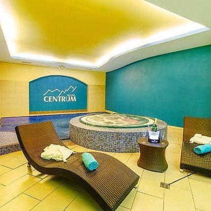 3–6denní wellness pobyt s polopenzí v hotelu Centrum Harrachov*** v Krkonoších