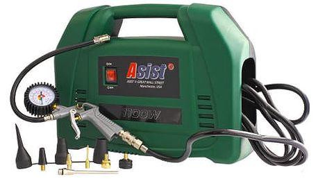 ASIST AE7C110 Kufříkový kompresor 1100W