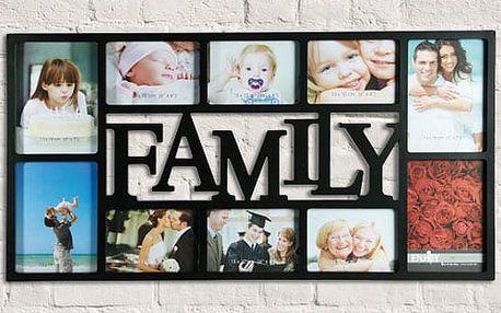 Rodinný fotorámeček Family 10 fotografií