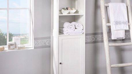 Regál do kúpeľne bianca, 40/160/38 cm