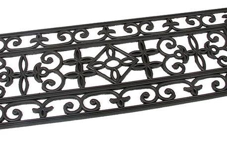 Flomat Venkovní rohožka schodová Deco, 25 x 75 cm