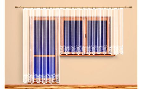 4Home Záclona Agáta, 600 x 160 cm, 600 x 160 cm