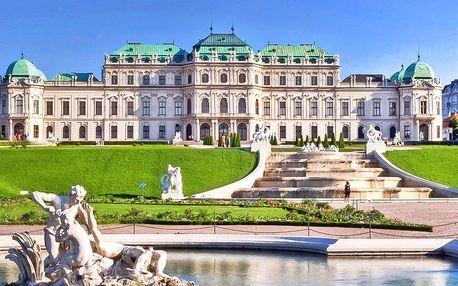 Vídeň a koncert filharmoniků v Schönbrunnu