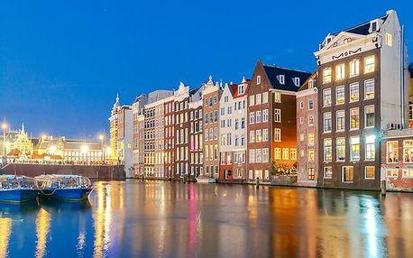 5denní poznávací zájezd pro 1 osobu do Amsterdamu a okolí se zastávkou v Bruselu