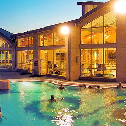 Oblíbený Sárvár v elegantním hotelu kousek od arboreta i termálních lázní se snídaní