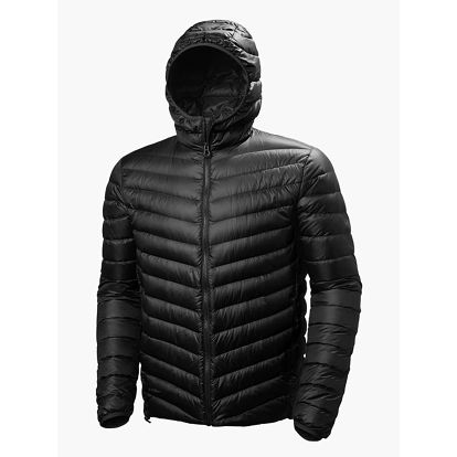 Bunda Helly Hansen Verglas Hooded Down Insulator Černá