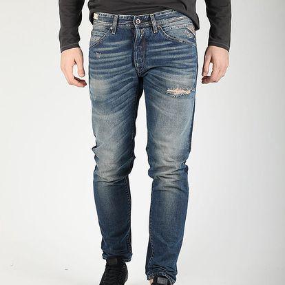 Džíny Replay MA941 Trousers Modrá