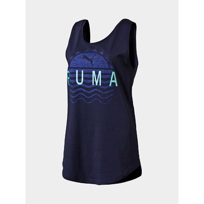 Tílko Puma Summer Tank peacoat Modrá