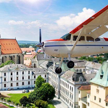 Vyhlídkový let letadlem Bristell nebo Cessna 172
