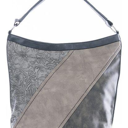 Tapple Elegantní kombinovaná dámská kabelka Flower přes rameno