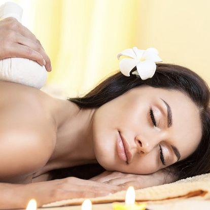 výběr z masáže zad a šíje, aromatická masáž, masáž lávovými kameny