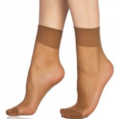 Dámské silonkové ponožky LadySocks - 2 páry