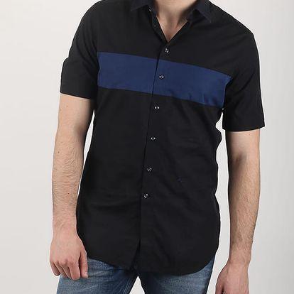 Košile Diesel S-COAST-SHO CAMICIA Černá