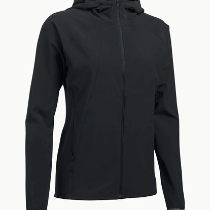 Bunda Under Armour Outrun The Storm Jacket Černá