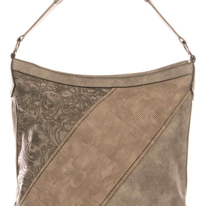 Tapple Elegantní kombinovaná dámská crossbody kabelka Flower