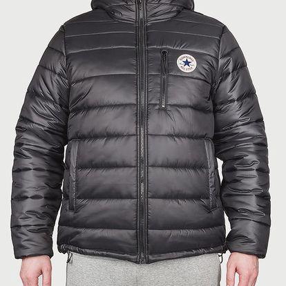 Bunda Converse Core Poly Fill Jacket Černá
