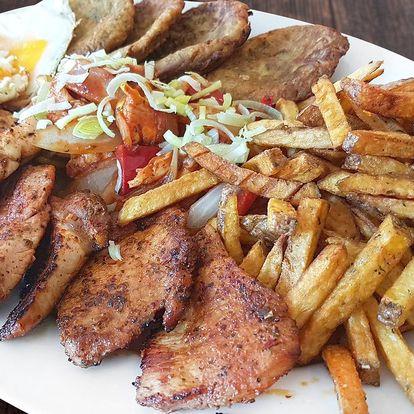 Nálož grilovaných dobrot pro 2-3 jedlíky