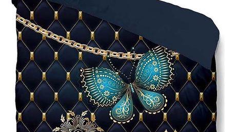 Povlečení na dvoulůžko Muller Textiels Pure Lavanya, 200 x 200 cm